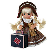 12 Precious Moments Coming to America GermanyDoll - C214619