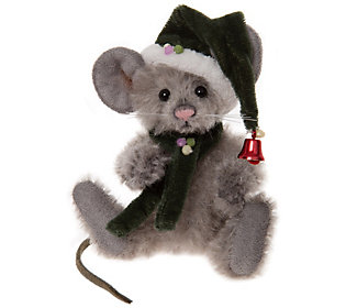Charlie Bears Collectible Sneeze Mohair Key Ring/Ornament