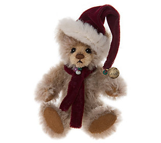 Charlie Bears Collectible Dingle Mohair Key Ring/Ornament