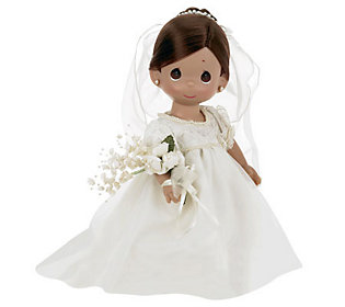 Precious Moments Enchanted Bride Brunette 12