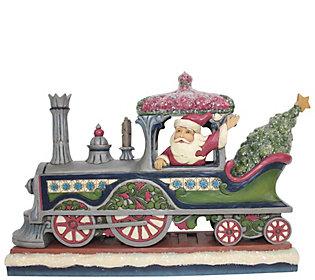 Jim Shore Heartwood Creek Victorian Santa in