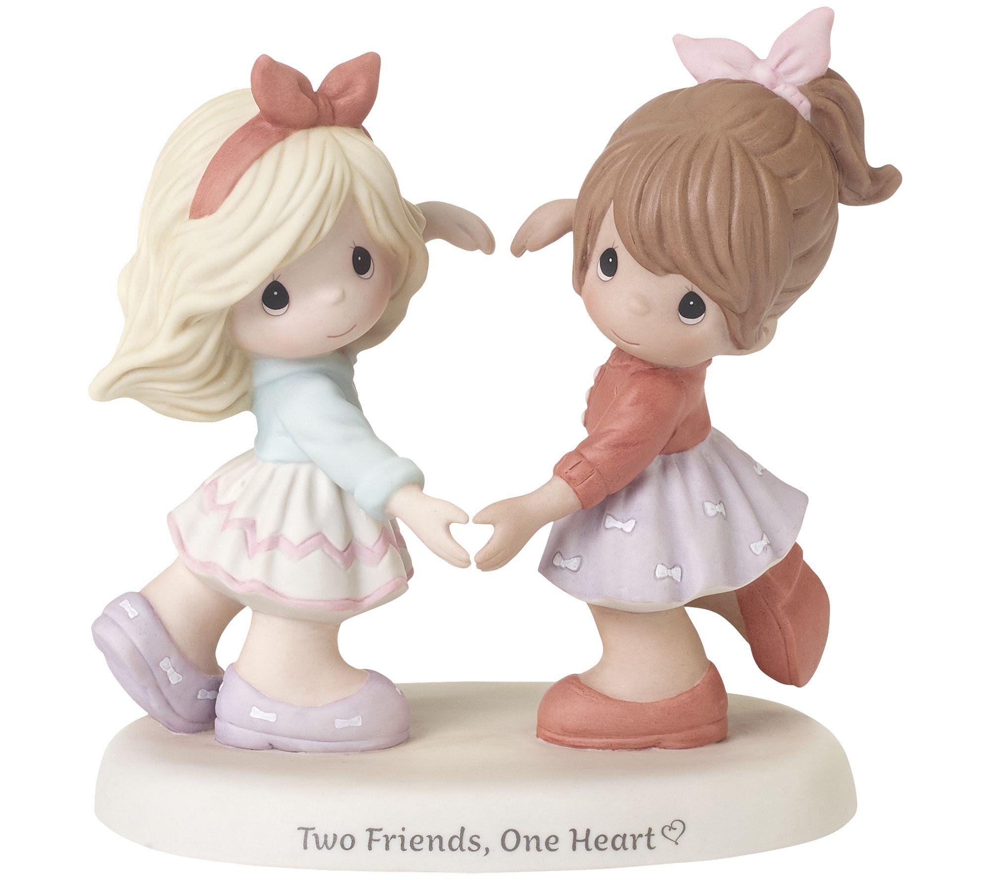 Petite Porcelain Brunette Haired Doll Angel Doll Ornament Full Body  Box 26b