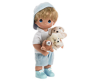 Precious Moments Puppy Dog Tails Doll
