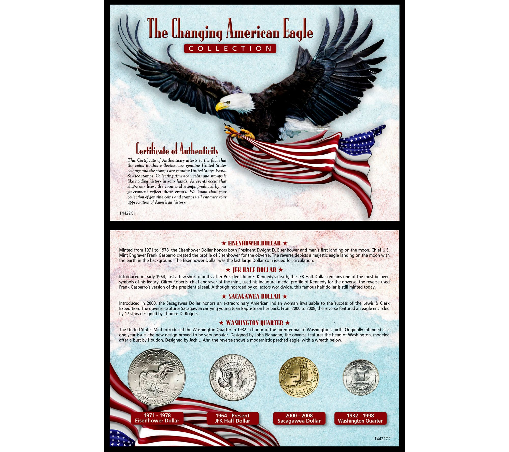 American Coin Treasures Changing American EagleCollection — QVC com