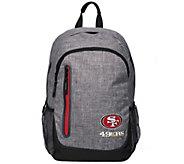NFL Heather Grey Bold Color Backpack - C214853