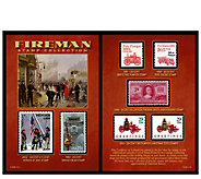 American Coin Treasures Fireman Stamp Collection - C214555