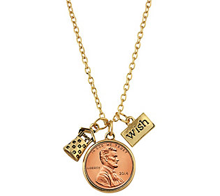 American Coin Treasures Wishing Well Penny Charm
