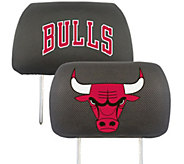 Fanmats NBA Embroidered Headrest Cover - C215255