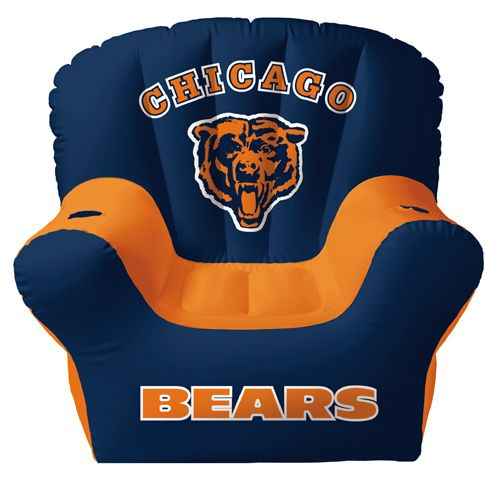 Genial Chicago Bears Inflatable Chair With Two Drink Holders U2014 QVC.com