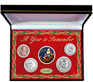 American Coin Treasures 2018 Santa Year To Remember Coin Set - C214559