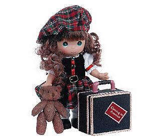 Precious Moments Scotland Coming to America Doll
