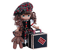 Precious Moments Scotland Coming to America Doll - C214061