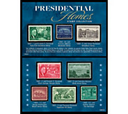 American Coin Treasures Presidential Homes Stamp Collection - C214561