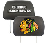Fanmats NHL Embroidered Headrest Cover - C215269