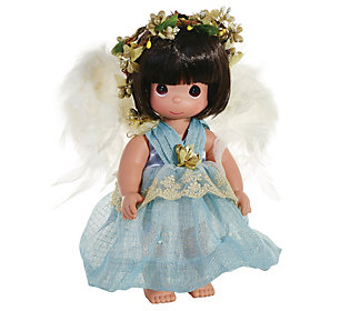 Precious Moments Faith Angel Doll