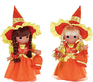 Set of 2 Precious Moments Candy Corn