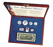 American Coin Treasures Star Spangled Coin andStamp Box Set - C214575