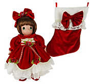16 Precious Moments Season of Love Stocking Doll - C214577