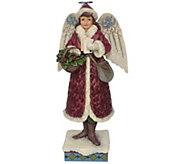 Jim Shore Heartwood Creek Merry Messenger Figurine - C214381