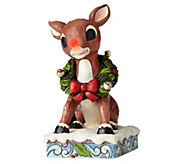 Jim Shore Rudolph Traditions Rudolph with Lighted Nose - C214287