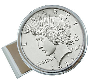 American Coin Treasures Sterling Silver Peace Coin