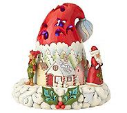 Jim Shore Heartwood Creek Lighted Santa Hat - C214699