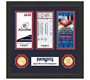 New England Patriots Road to Super Bowl LIII Ticket Collection - C215399