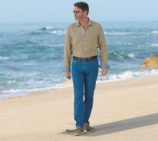 CLUB OF COMFORT®  Coolmax® JeansLaurenz super leicht, kühlend Smartphonetasche Sicherheitstasche