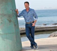 CLUB OF COMFORT®  Coolmax Jeans Ronald super leicht kühlend, knitterarm Sicherheitstaschen