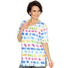 IN PRINT IN-PRINT Shirt, 1/2-Arm Rundhalsausschnitt Multicolour- Druck