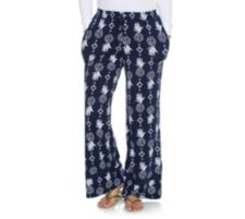 CUDDL DUDS  Jersey-Qualität Loungehose weites Bein Seitentaschen