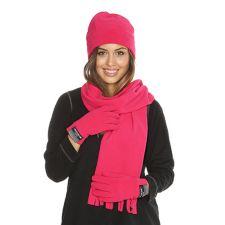 CENTIGRADE  ACTIVE Fleece-Set Mütze, Schal & Handschuhe