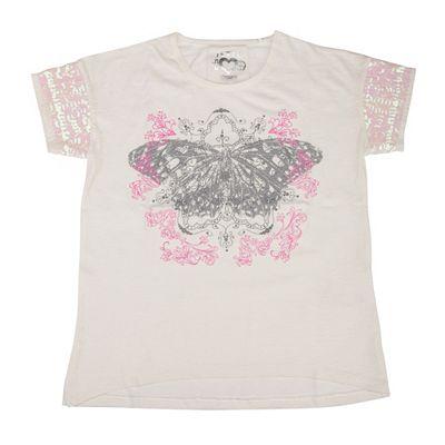JETTE by Staccato Mädchen-Shirt 1/4-Arm platzierter Druck Pailletten Preisvergleich