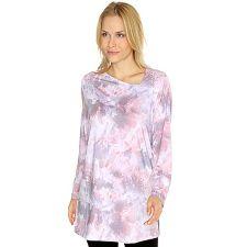 IN PRINT IN-PRINT Shirt, 1/1-Arm asymmetrischer Ausschnitt