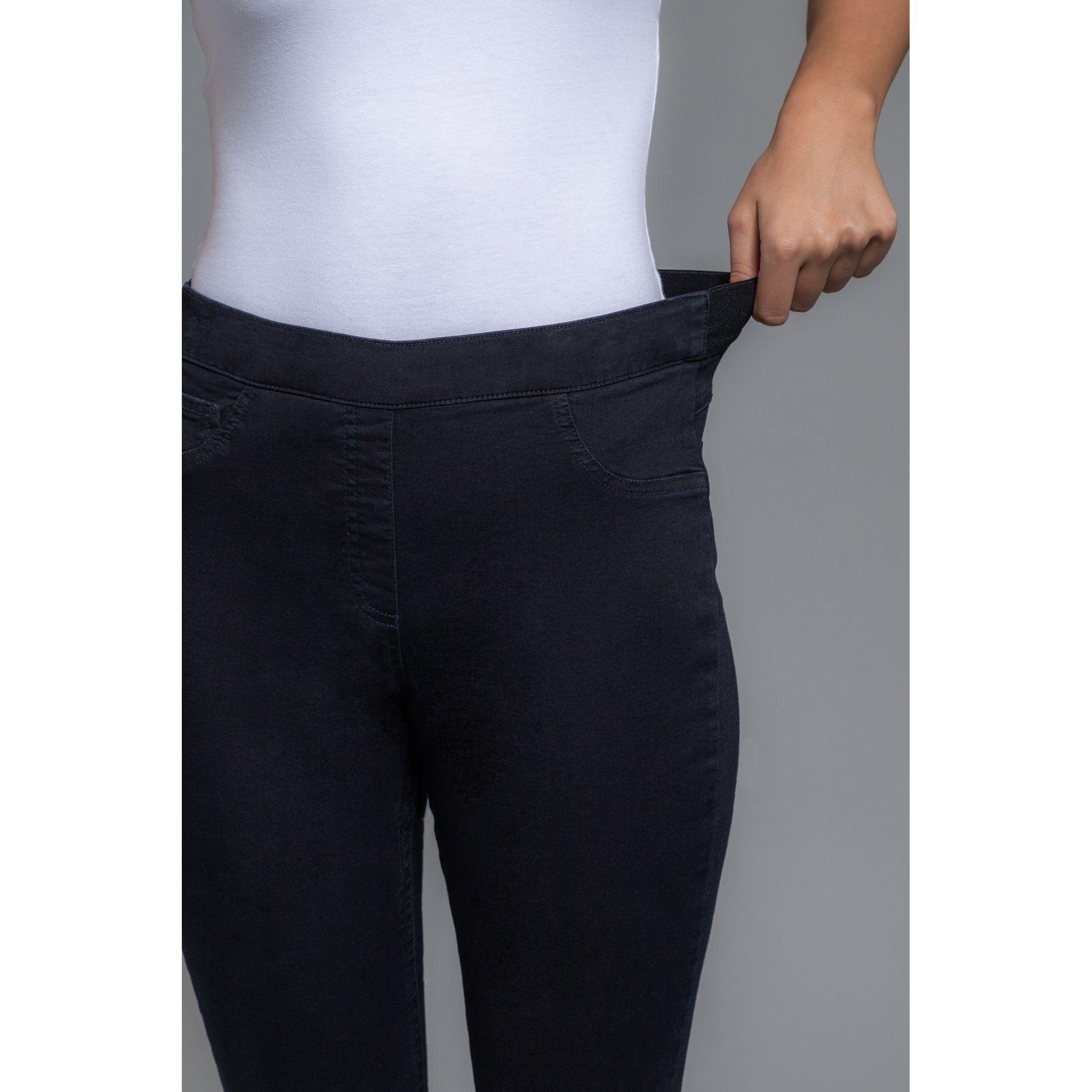 Hochwertige  Stretch-Jeans Jeggings  Gr.44 Rundumdehnbund