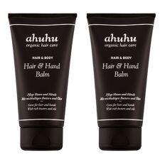 ahuhu organic hair care  Hair- & Hand-Balm-Duo je 150ml