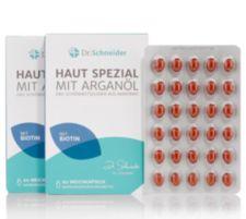 DR SCHNEIDER DR. SCHNEIDER Haut Spezial mit Arganöl & Biotin 120 Weichkapseln für 120 Tage