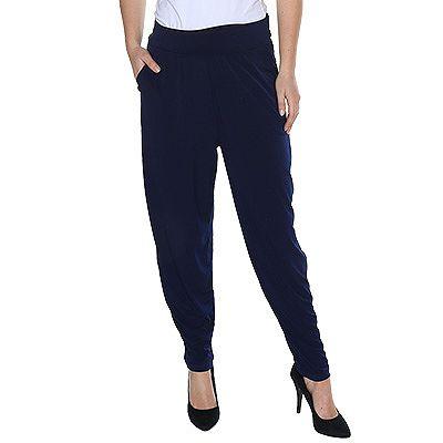 KIM & CO. Brazil-Knit-Jersey Hose, lange Form breiter Bund Kräuselung Preisvergleich