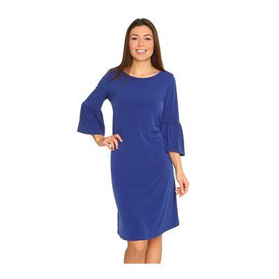 KIM & CO. Brazil Knit Jersey Kleid, knielang Volant-Ärmel Rundhalsausschnitt Preisvergleich