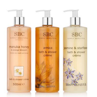 SBC Shower Collection Arnica, Jasmin & Manuka Honey je 500ml Preisvergleich