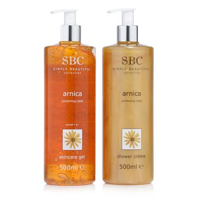 SBC Arnica Skincare Gel & Duschcreme je 500ml Preisvergleich