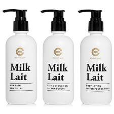 ELIZABETH GRANT  Milk Body Collection Körpercreme, Schaumbad & Duschgel
