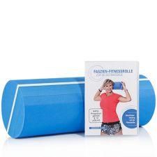 FLEXI SPORTS FLEXI-SPORTS Fitness Rücken-Set Faszien-Fitnessrolle inkl. Trainings-DVD