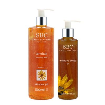 SBC Arnica Skincare Gel 500ml & Intensive Gel 250ml Preisvergleich