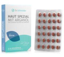 DR SCHNEIDER DR. SCHNEIDER Haut Spezial mit Arganöl & Biotin 60 Weichkapseln für 60 Tage