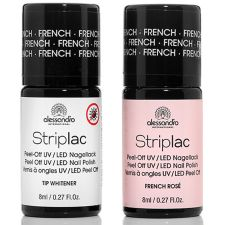 alessandro®  Striplac Farbduo French Rosé & Tip Whitener je 8ml