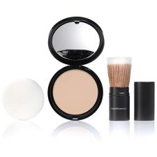 bareMinerals®  Perfecting Veil Finishing Puder gepresst mit Pinsel, 9g