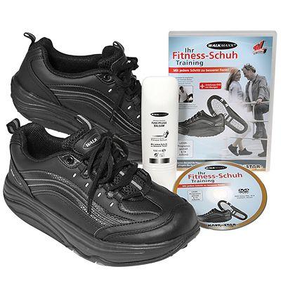 eaa495a27a747c WALKMAXX Hochwertiger Fitness-Schuh inkl. Trainings-DVD und Fußbalsam -  Page 1 — QVC.de