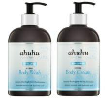 ahuhu organic hair care  Hyaluron Body Wash & Body Cream je 500ml