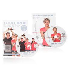 FLEXI SPORTS FLEXI-SPORTS Doppel-DVD-Set bestehend aus FLEXI-BAR Toning & Rücken II